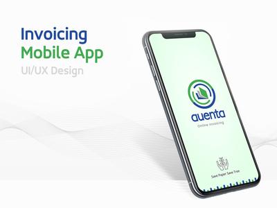 Invoicing Mobile App UI/UX Design
