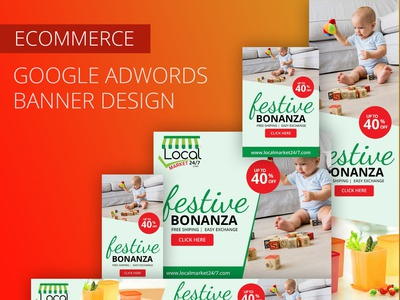Ecommerce Google Adwords Banner