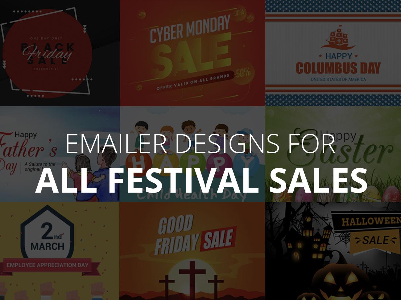Emailer Designs For All Festival Sales festive emailer newsletter design newsletter email marketing emailer design email emailer email design