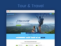 Tour & Travel Website-UI/UX