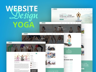 Yoga Web Template
