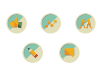 Vintage Icons & Welcome Email for New Users