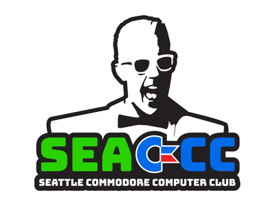 Seattle Commodore Computer Club Logo seattle vintage computing computer club commodore sea-ccc illustration