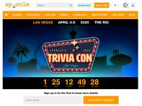 TriviaCon Landing Page