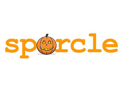 Sporcle Halloween Logo logo illustration halloween pumpkin