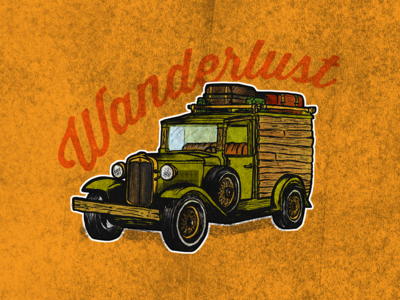 Old Camper Van