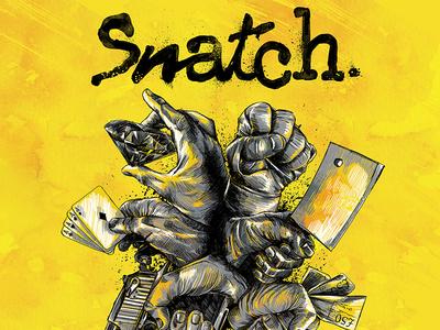 Snatch Final DVD Cover
