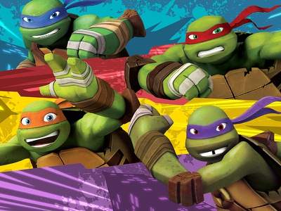 Teenage Mutant Ninja Turtles Style Guide tmnt nickelodeon teenage mutant ninja turtles style guide graphic design