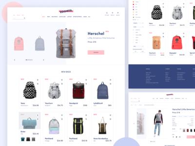 Online Bag Store