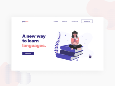Landing for Education Platform