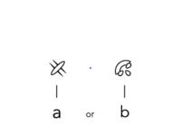 a or b plz