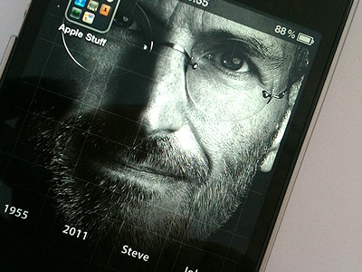 Steve Jobs Iphone Wallpaper Another Version By Adrian
