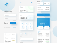 Banking App Interface elements