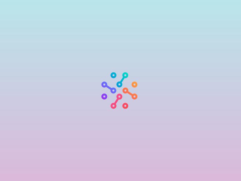 The Net logotype branding vector logo