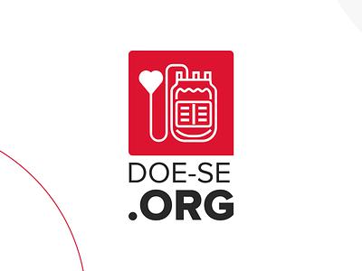Doe-se branding ui logo app logo
