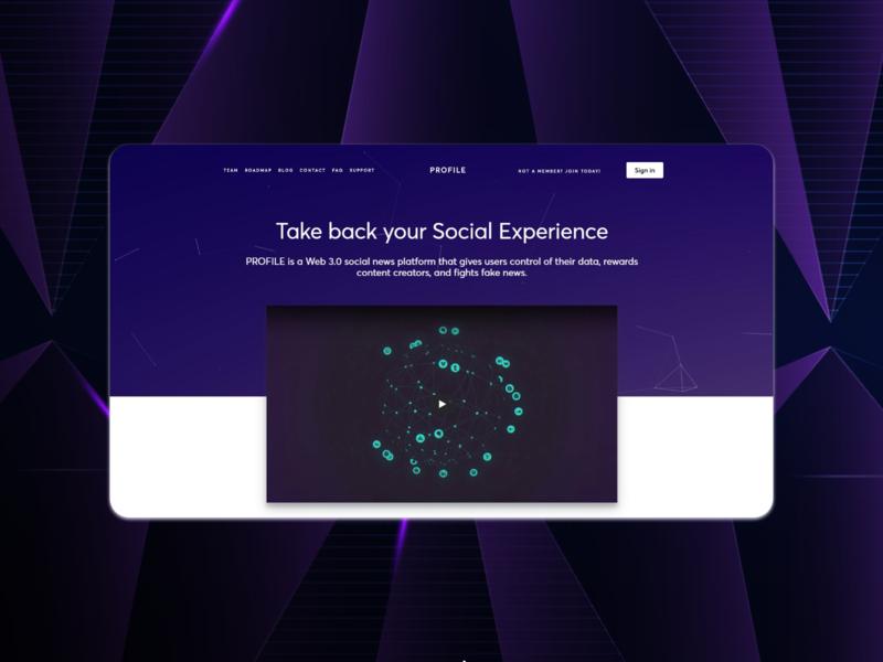 Landing page landign page flat web design ui