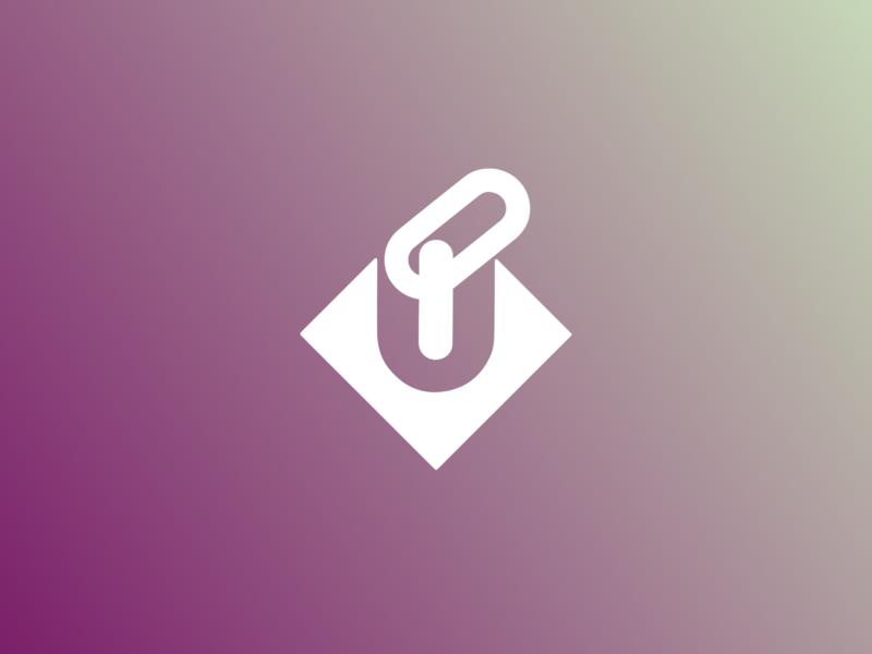 Blockchain logotype branding vector logotype logo concept