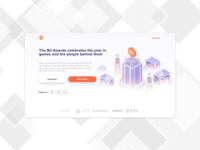 Landing page for Saas product