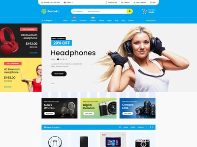 Electronic e commerce website design