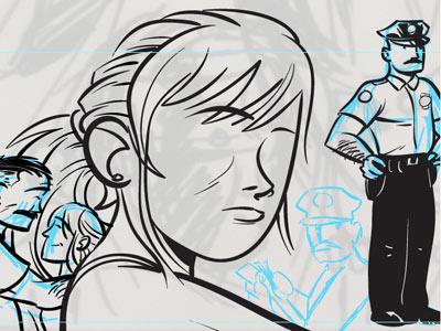 The Black Hood: Inks inks comics dc dc fifty-too