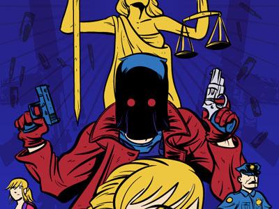 The Black Hood: Flats comics cartoon dc dc fifty-too