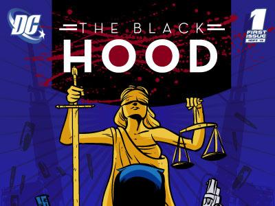 The Black Hood: Logos comics cartoon dc dc fifty-too