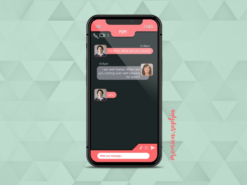 013 Direct Messaging daily100challenge daily013 dailyui