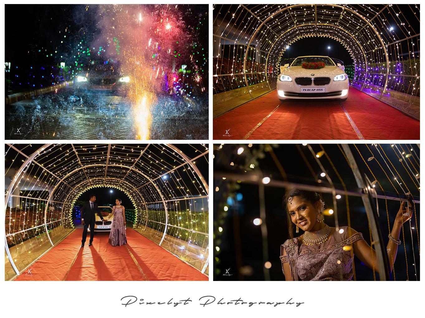 Windsor bmw light arch windsor reception wedding couplegoals night shot photography