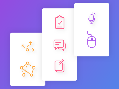Icon Set — in progress