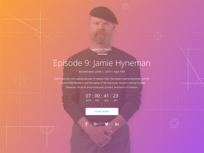 Udacity Talks with Jamie Hyneman