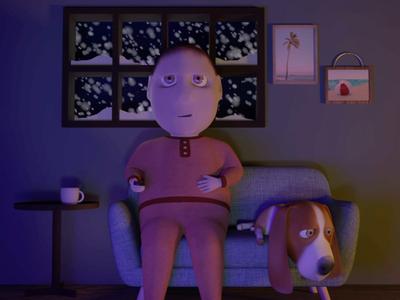 Yuki & Burt | 3D Animation