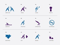 Beirut Olympic Games | Pictograms