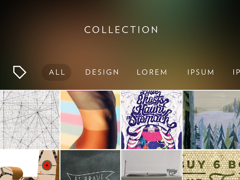 Collections ios7 gui app visn ios