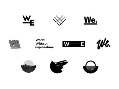 WorldWE Logo Exploration
