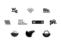 WorldWE Logo Exploration