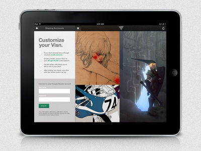 Visn for iPad. Coming soon. ipad visn app ios