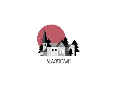 Blacktown Cover blacktown illustration graphic design board game