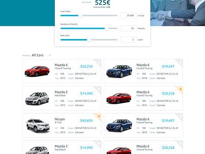Loan Simulator car transformation banking finance credit simulator outsystems loan