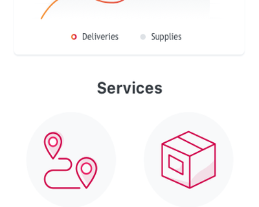 DeliverMe App package send deliver deliveries app transformation low code mobile outsystems