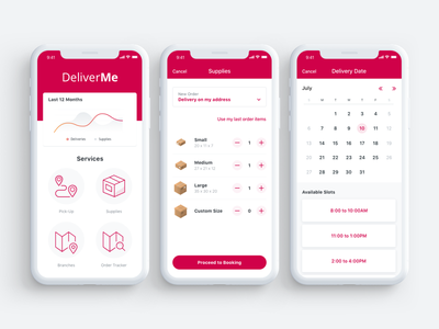 DeliverMe App package send deliver deliveries app transformation low code mobile outsystems