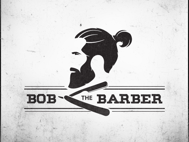 Barber Shop Logo Concept wordmarks logolovers icon vector design logo 2d dribbble logomockup dailylogochallange
