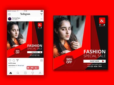 social media ad post design advertising post fb ad facebook ad instagram post fashion ad design ad banner post design 2020 flyer design