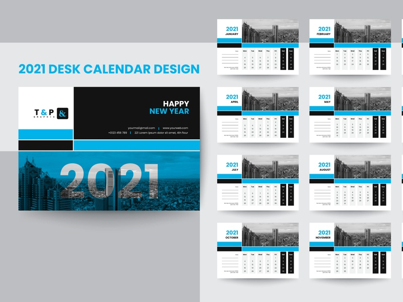 2021 desk calendar design, calendar design 2021 happy new year vector card flyer logo design corporate calendar desk calendar calendar design 2021calendar branding advertising