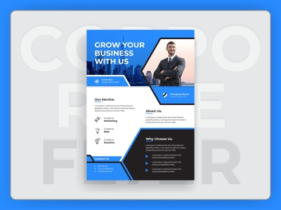 Creative and modern corporate business flyer design advertising blue best flyer corpoarte flyer corporate poster print ready flyer company flyer creative flyer modern flyer corporate corporate design corporate flyer 2020 flyer design design business