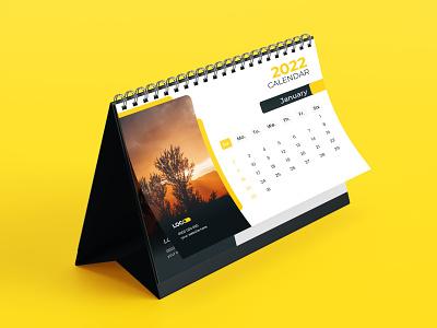 2022 Desk Calendar design template new calendar download 12 month 12 page print design corporate calendar business calendar desk calendar 2022 desk calendar 2022 calendar 2022