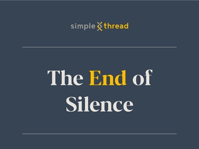 The End of Silence black lives matter