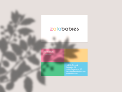Zalababies Business Card
