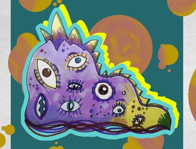 Steve - the psychodelic monster
