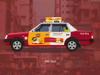Hongkong Taxi with BG