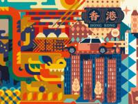 "Combination ""Shanghai & Hong Kong"""
